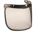 "Hard Hat Faceshield Screen - 7"" x 15.5"" - Mesh / FS01"