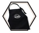 Apron - Black - Cotton / APRONBLACK