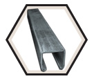 "Strut Channel - 1"" - Single - 10' / Pre-Galvanized Steel *12 GAUGE"