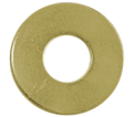 Flat Washers - S.A.E. - Medium Carbon Alloy Steel / Yellow Zinc *GRADE 8 (Bulk)