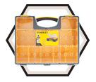 Deep Professional Organiser - 10 Bin / Plastic