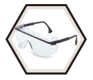Astro OTG 3001 Safety Glasses - Uvextreme Anti-fog / S2500C Series