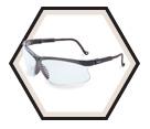 Genesis® Safety Glasses - Ultra-dura Anti-scratch / S3200 Series