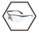 Genesis® Slim Safety Glasses - Dura-streme Dual / S3700D Series