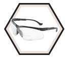 Genesis® Magnifier Safety Glasses - Ultra-dura Anti-Scratch / S3700 Series