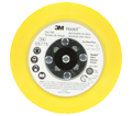 3M™ Hookit™ Disc Pad, 05775, 5 in x 3/4 in, 5/16-24 ext - Yellow