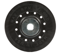 3M™ Fibre Disc Back-Up Pad With Retainer Nut, 5 in x 5/8-11 -