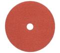 3M™ Fibre Disc, 985C, grade 36, 7 in x 7/8 in - Orange