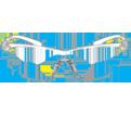 Safety Glasses - Polycarbonate - Frameless / 11380 Series *VIRTUA SPORT™