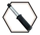 Pre-Set Interchangeable Head Torque Wrench - 100-600 ft./lbs.