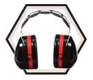 Earmuffs - ABS - Over-the-Head - 30 NRR / H10A *PELTOR OPTIME 105™