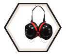 Earmuffs - ABS - Behind-the-Head - 29 NRR / H10B *PELTOR OPTIME 105™