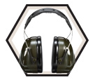 Earmuffs - ABS - Over-the-Head - 21 NRR / H7A *PELTOR OPTIME 101™
