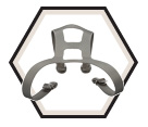 Harness - Respirator - Grey / 6897