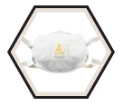 Respirator - Particulate - Disposable - N100 / 8233 *COOL FLOW