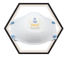 Respirator - Particulate - Disposable - P95 / 8271 *COOL FLOW