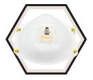 3M™ Particulate Welding Respirator, 8515, N95 - White