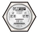 "Industrial Dry Cut Blade - 12"" - 80T"
