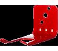 Wall Fire Extinguisher Bracket - Alum Valve - Steel / RED