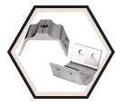 Q-Deck Clip - Aluminum / QD Series