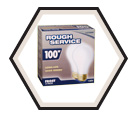 Rough Service Light Bulbs - 100W (2Pk)