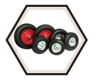 Wheel Barrow Wheels - 16""