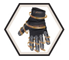 High Performance Gloves - Unlined - Copper Infused / 20303 *MASTERPRO