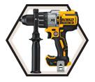 "Hammer Drill (Tool Only) - 1/2"" - 20V Li-Ion / DCD997B *MAX XR"