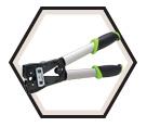 Mechanical Crimp Tool - 8-1/0 AWG - Laser Cut Dies / K05-SYNCRO