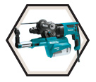 """Rotary Hammer (w/o Acc) - 1"""" SDS-Plus - 7.0 amps / HR2651 *AVT™"""