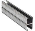 "Strut Channel - 1"" - Back to Back - 10' / Hot Dip Galvanized Steel *12 GAUGE"