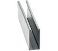 "Strut Channel - 3-1/4"" - Single - 20' / Pre-Galvanized Steel *12 GAUGE"