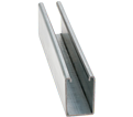 "Strut Channel - 2-7/16"" - Single - 10' / Pre-Galvanized Steel *12 GAUGE"