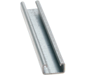 "Strut Channel - 13/16"" - Single - 20' / Pre-Galvanized Steel *12 GAUGE"