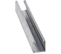"Strut Channel - 1-5/8"" - Single - 10' / Aluminum *12 GAUGE"