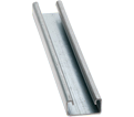 "Strut Channel - 13/16"" - Single - 10' / Aluminum *14 GAUGE"
