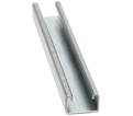 "Strut Channel - 1"" - Single - 10' / 304 Stainless Steel *12 GAUGE"