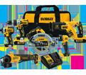 6 Tool Combo Kit - 20V Li-Ion / DCK695P2 *MAX XR