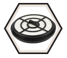 Vacuum Filter - HEPA - Dry Use / 49-90-1963
