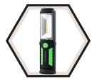 Flashlight - COB LED - 25 & 195 Lumens / 24-340 *PIVOTING