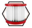 Vacuum Filter - HEPA - Wet/Dry Use / 49-90-1900