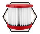 Vacuum Filter - HEPA - Wet/Dry Use / 49-90-1900