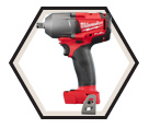 "Impact Wrench - 1/2"" Friction Ring - 18V Li-Ion / 2861 Series *M18 FUEL"
