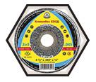 Cut-Off Wheel - Aluminum Oxide - Type 41 / 342 Series *EDGE