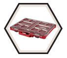 Modular Organizer - 10 Bins - Plastic / 48-22-8431 *PACKOUT