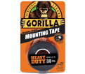"Double-Sided Tape - 1"" - Foam - Black / 6155002 *GORILLA"
