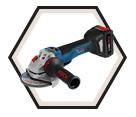 """Angle Grinder (Kit) - 4-1/2"""" - 18V Li-Ion / GWS18V-45PSC *CORE"""