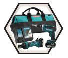 2 Tool Combo Kit - 18V Li-Ion / DLX2089M *LXT