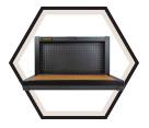 Workbench - Folding - Wall Mount / STMT81527