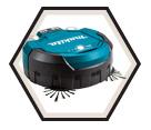 Robotic Vacuum (Tool Only) - 2.5 L - 2x18V Li-Ion / DRC200Z *LXT